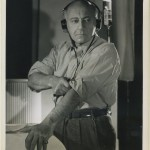 Cecil B DeMille 1940s CBS Promotional Photo