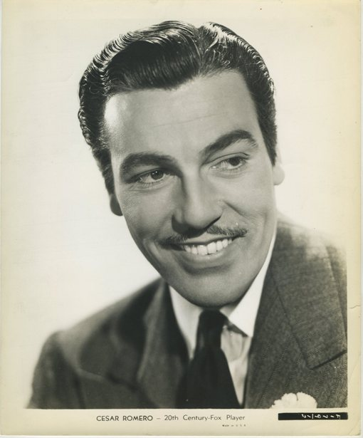 Cesar Romero Fox Promotional Photo
