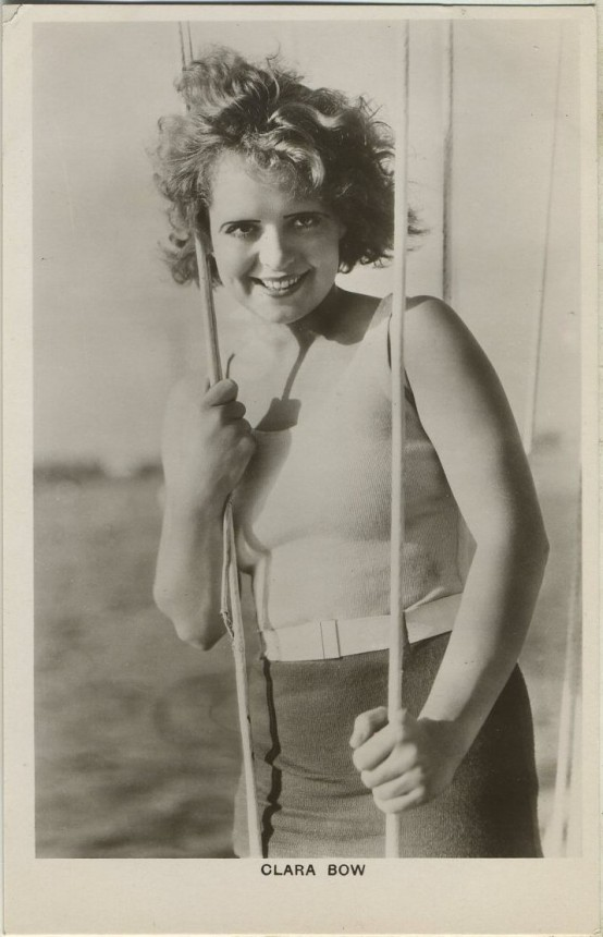Clara Bow 1930s Picturegoer Postcard