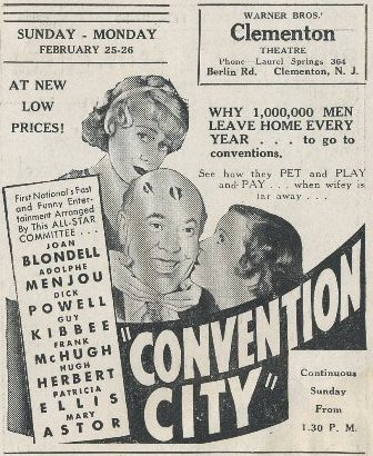 Convention City program cover