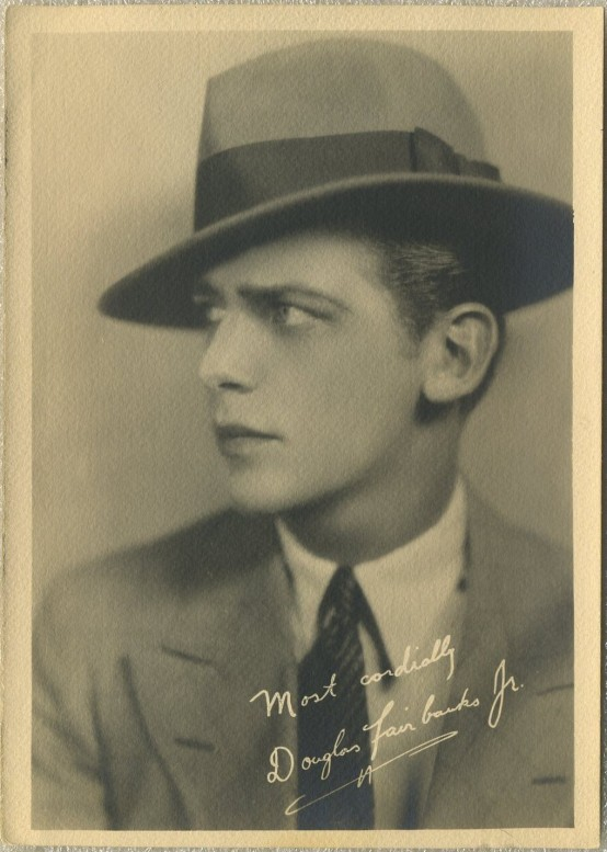 Douglas Fairbanks Jr Fan Photo