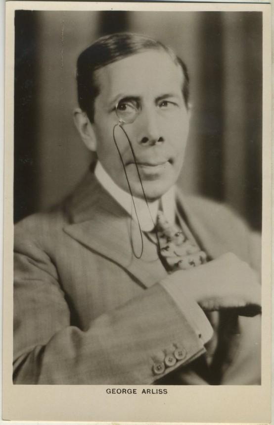 George Arliss Picturegoer Postcard