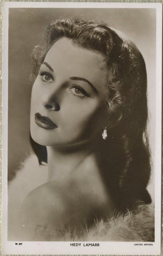 Hedy Lamarr Postcard