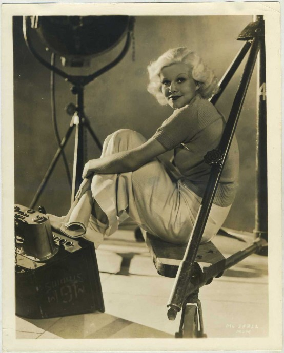 Jean Harlow 1930s MGM Promotional Photo