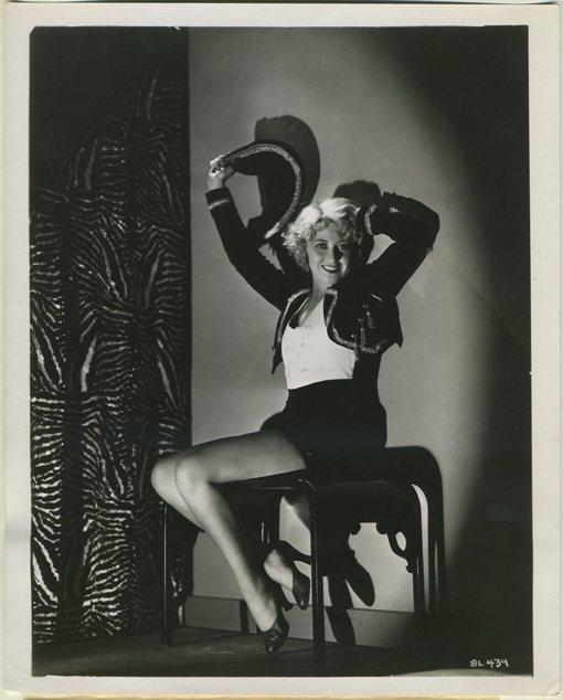 Joan Blondell 1930s Publicity Photo