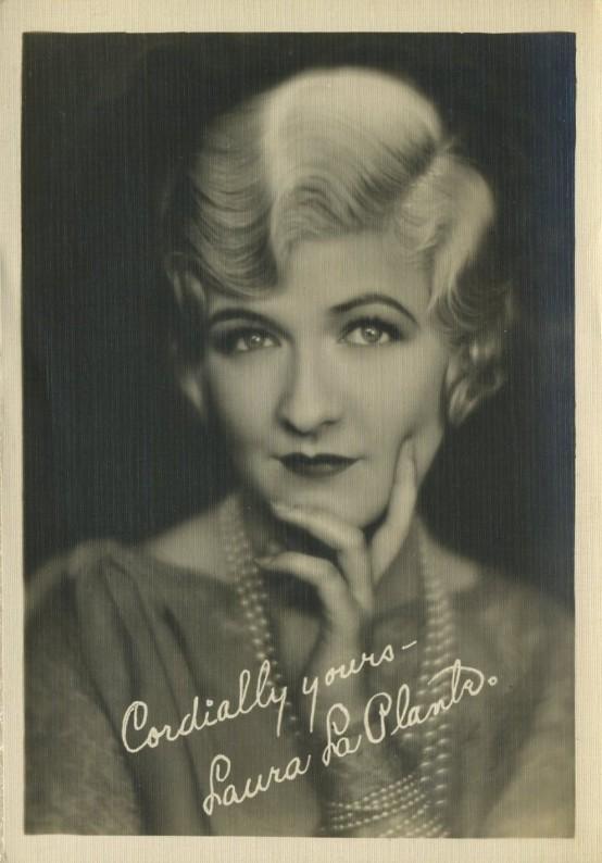 Laura La Plante 1920s Fan Photo