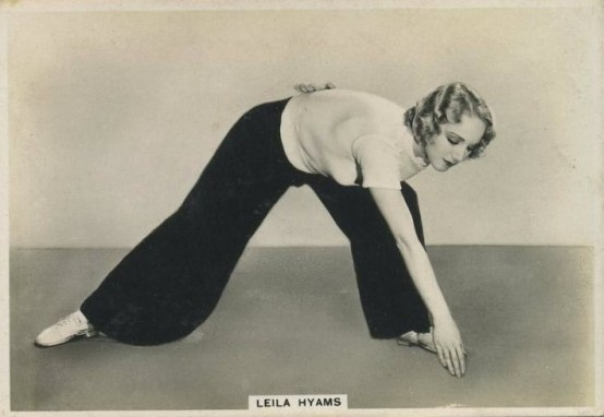 Leila Hyams 1930s BAT Modern Beauties