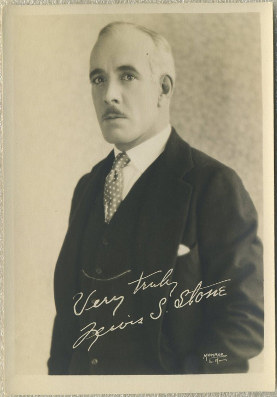 Lewis Stone 1920s Fan Photo