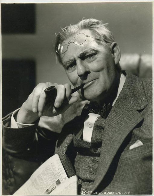 Lionel Barrymore Columbia Promotional Photo