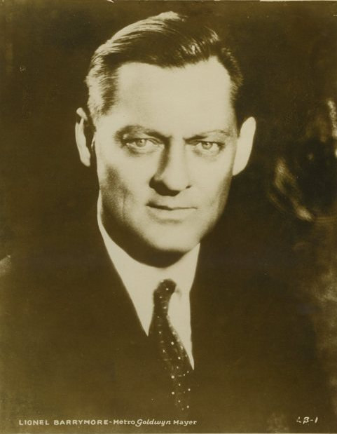 Lionel Barrymore 1920s MGM Promotional Still
