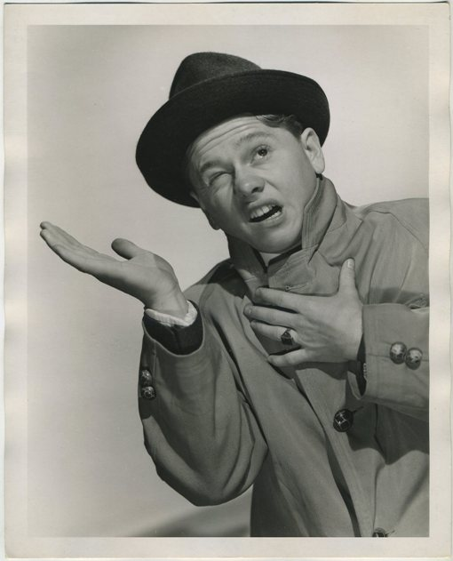 Mickey Rooney 1939 Press Photo