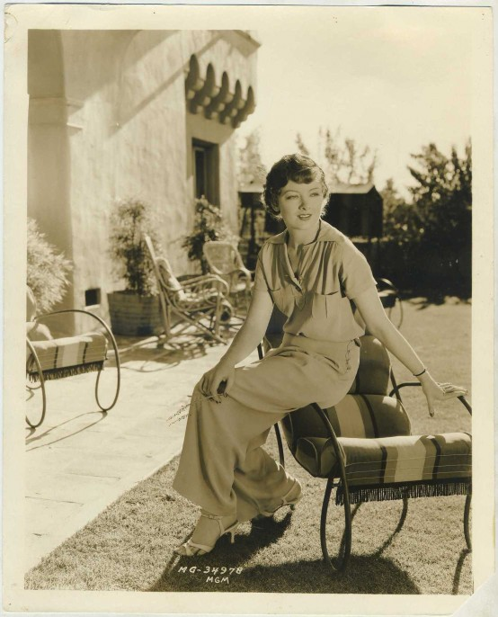 Myrna Loy 1930s MGM Promotional Photo