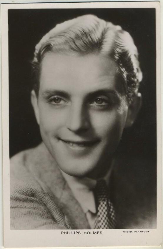 Phillips Holmes Postcard