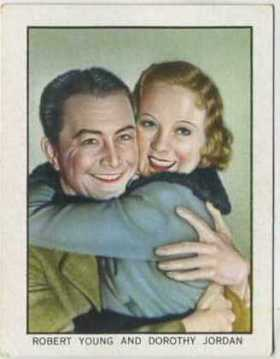 Robert Young and Dorothy Jordan World Famous Cinema Artistes