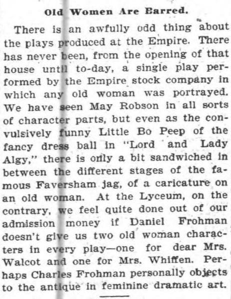 May Robson 1899