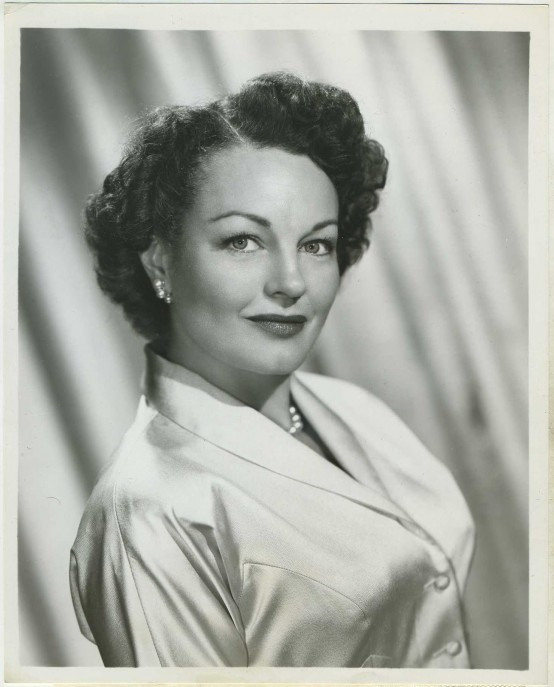 Rochelle Hudson 1954 CBS TV Press Photo