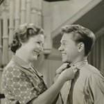 Fay Holden and Mickey Rooney