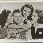 Ann Rutherford Mickey Rooney Judy Garland Lana Turner