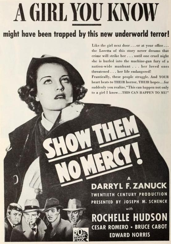 Show Them No Mercy advertisement