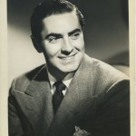 Tyrone Power 20th Century Fox Promotional Photo