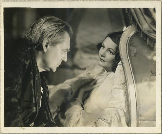 Lionel Barrymore and Elizabeth Allan
