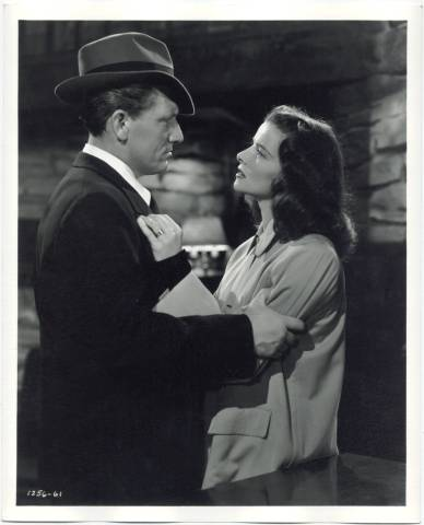Spencer Tracy and Katharine Hepburn Keeper of the Flame Photo