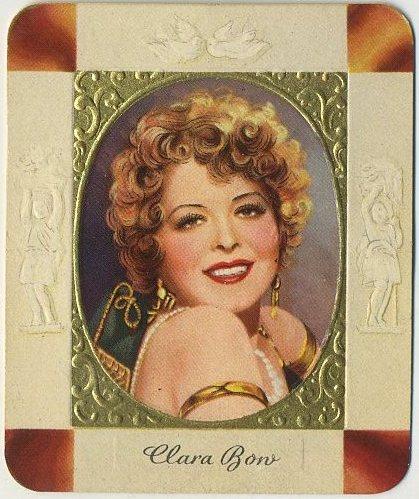 Clara Bow 1930s Garbaty Moderne Schonheitsgalerie