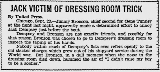 Source: Pittsburgh Press, September 23, 1927, page 39.