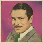 Laurence Olivier 1960s Cine Foto paper stock card from Spain