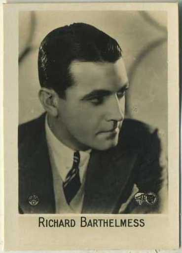 Richard Barthelmess 1931 Orami B