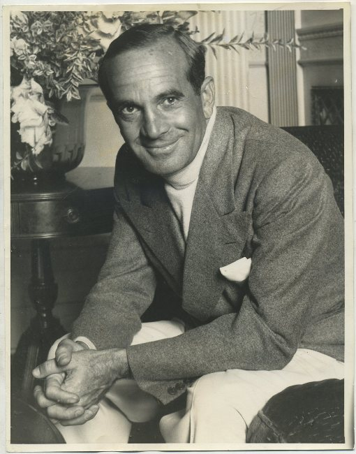 Al Jolson 1933 Press Photo