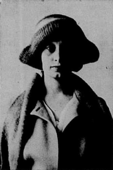 Aline MacMahon 1921 passport photo