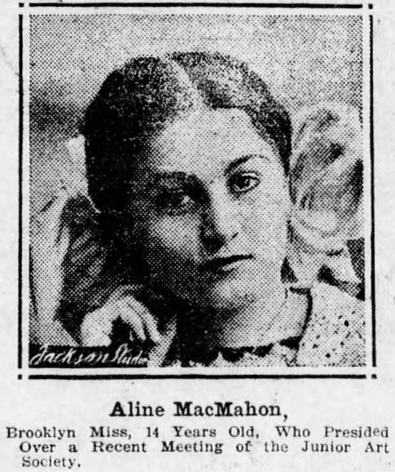 Aline MacMahon 1912