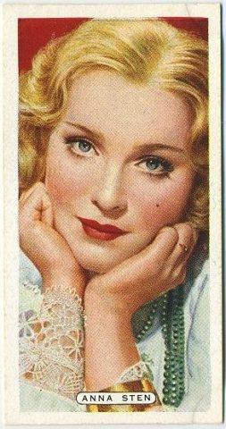 Anna Sten 1935 Ardath Film Stage and Radio Star