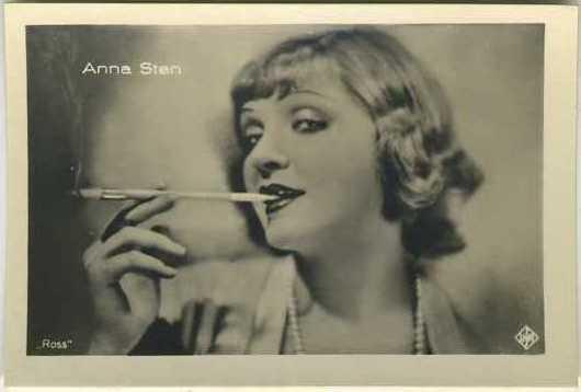 Anna Sten A Batschari German tobacco card