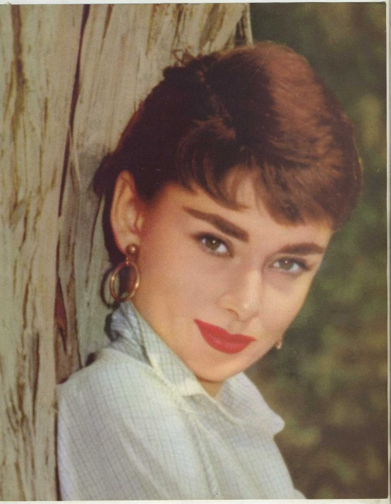 Audrey Hepburn 1955 Skye Publications Premium Photo
