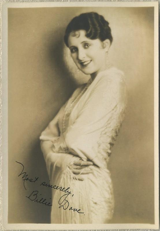 Billie Dove 1920s Fan Photo