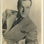 Bob Hope 1930s Fan Photo