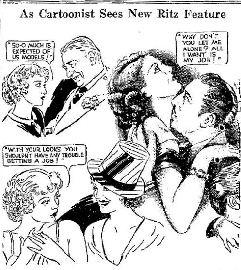 Above: Unfortunately, when I originally clipped this newspaper cartoon, the only information I saved was the publication date: February 11, 1933.