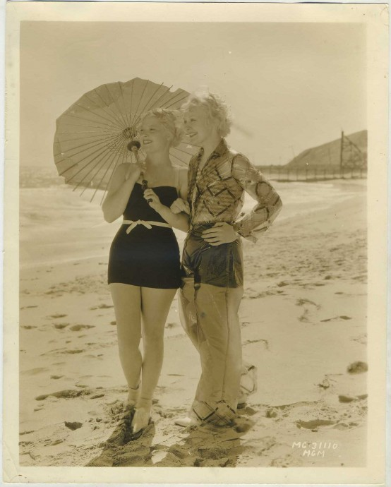 Mary Carlisle and Ruth Channing MGM Promotional Photo
