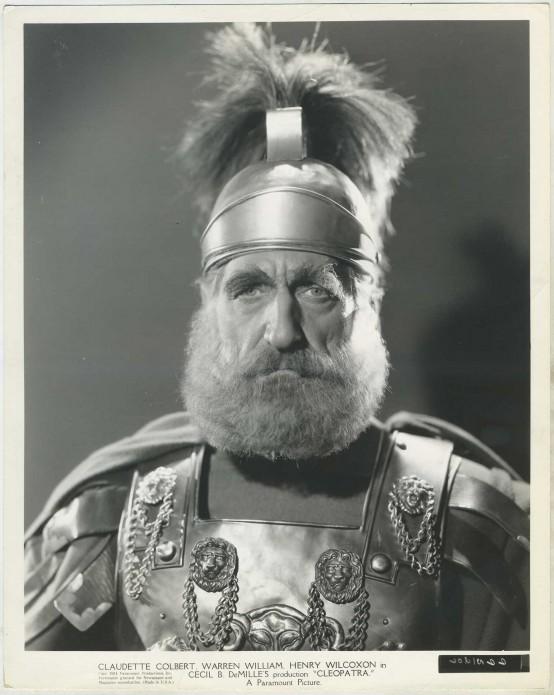 C Aubrey Smith in Cleopatra