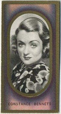 Constance Bennett 1938 Carreras Film Favourites