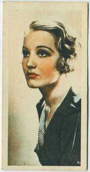 Constance Cummings 1934 Godfrey Phillips Film Stars