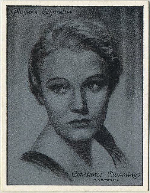 Constance Cummings 1934 John Player Film Stars