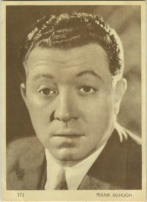 Frank McHugh 1930s Aguila Chocolates