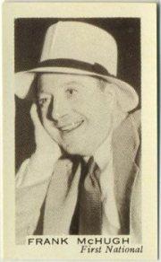 Frank McHugh 1936 Facchinos