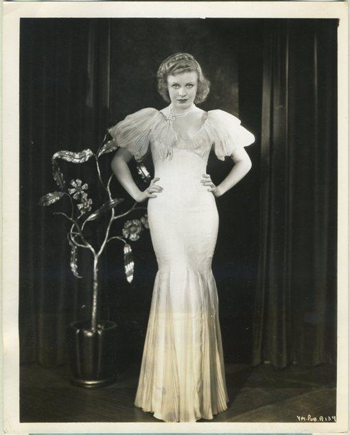 Ginger Rogers 1930s Warner Bros Promotional Still