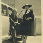 Betty Grable and Mayme Ober Peak