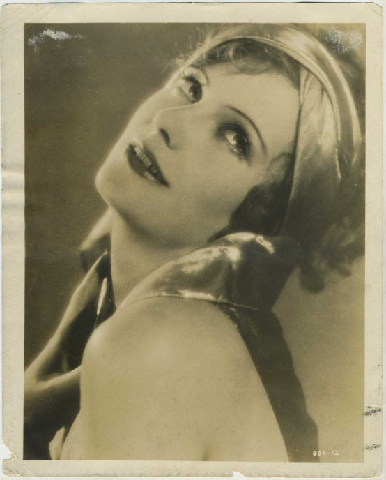 Greta Garbo 1926 MGM Promotional Photo