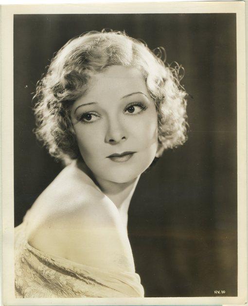 Helen Vinson 1930s Warner Bros portrait